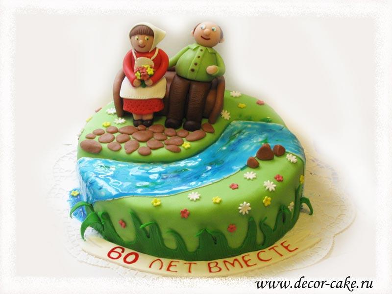 Торт для дедушки своими руками