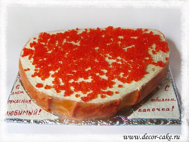 как приготовить пирог с красной икрой