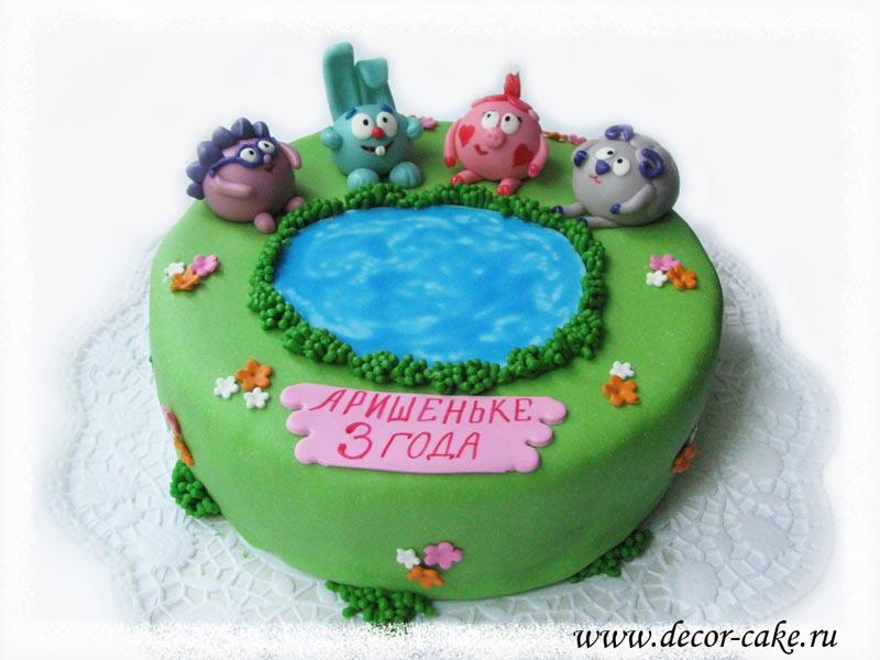 фото рецепт торт еж из смешариков из мастики