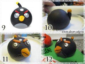 Торт с angry birds энгри бердс