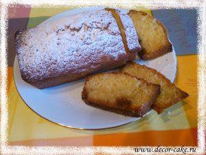 Рецепт быстрого кекса
