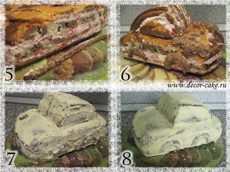 Торт маквин пошаговый рецепт
