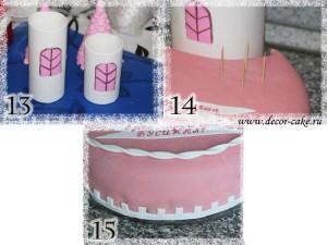 Торт-замок