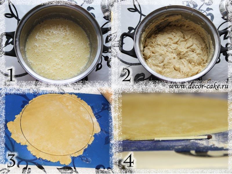 Приготовление торты медовики