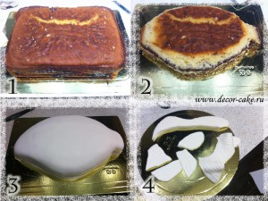 Мастер-класс по торту в виде карпа
