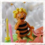 Пчелка Майя и Вилли из мастики